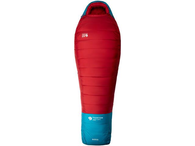 Mountain Hardwear Phantom Gore-Tex Schlafsack -40°C Long alpine red